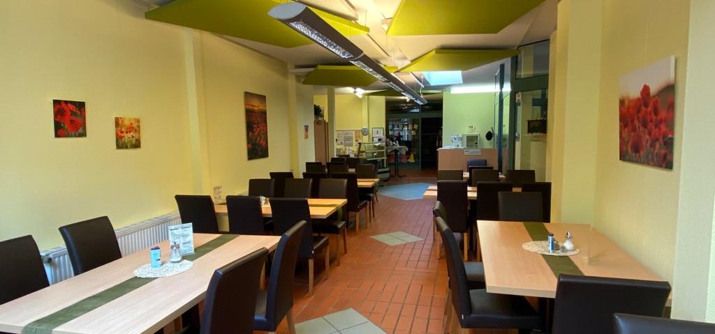 Cafe Bereich bei Robin Hood
